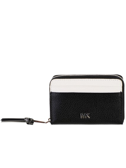 4daba5371c68 michael michael kors BLACK AND WHITE CARD HOLDER available on ...