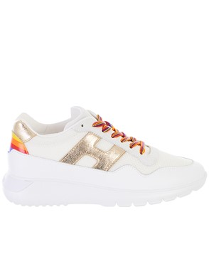 HOGAN - WHITE INTERACTIVE3 SNEAKERS