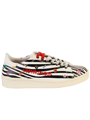 MASTER OF ARTS - ZEBRA-PRINT SNEAKERS