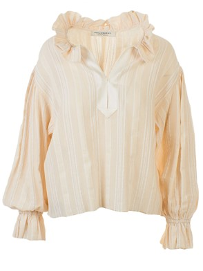 PHILOSOPHY BY LORENZO SERAFINI - BEIGE BLOUSE