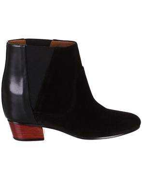 GOLDEN GOOSE DELUXE BRAND - BLACK DANA ANKLE BOOTS