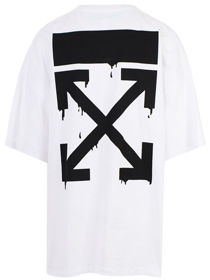 01def5e106b off white c/o virgil abloh WHITE BART PEACE SIGN T-SHIRT available ...