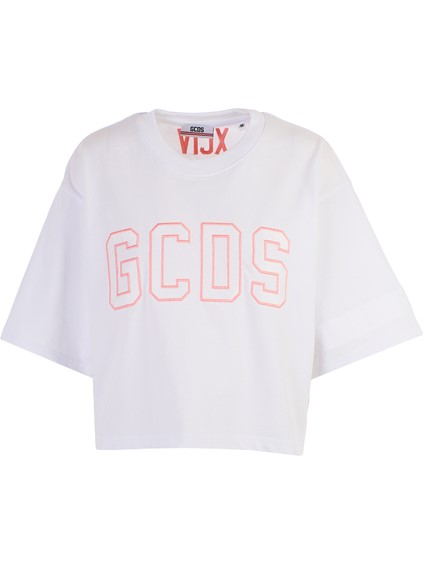 GCDS WHITE T-SHIRT