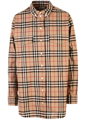 BURBERRY - CAMICIA TURNSTONE CHECK