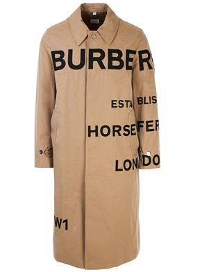 BURBERRY - BEIGE TRENCH COAT
