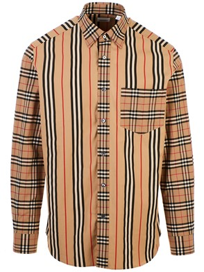 BURBERRY - CAMICIA ARCHIVE CHECK BEIGE