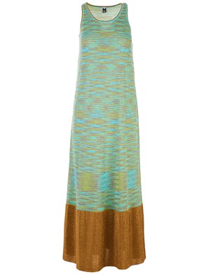 M MISSONI - GOLD MAXI DRESS