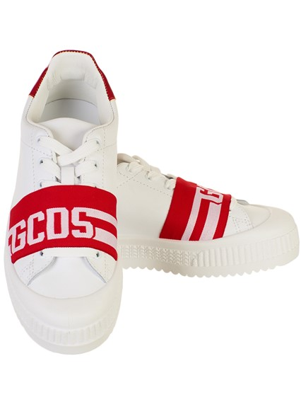 comprare popolare 3f15f 1ac6a WHITE AND RED SNEAKERS