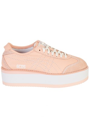 GCDS - PINK PF-D MEXICO 66 SNEAKERS