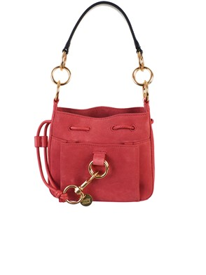 SEE BY CHLOE' - PINK WOODEN BAG