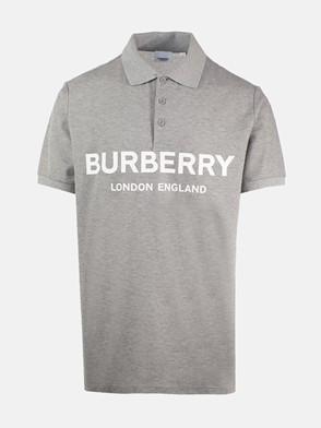 BURBERRY - POLO LUCKLAND GRIGIA