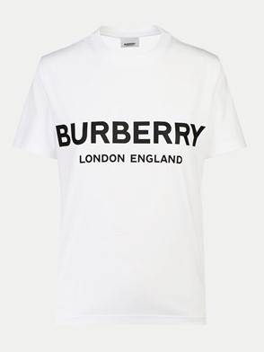 BURBERRY - T-SHIRT SHOTOVER BIANCA