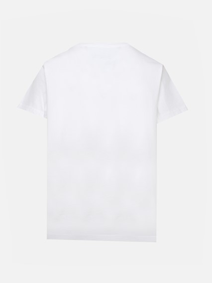 THE MARC JACOBS WHITE M/C THE TAG T-SHIRT