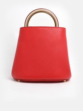 MARNI - RED BIG PANNIER BAG