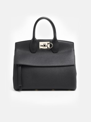 SALVATORE FERRAGAMO - BLACK THE STUDIO BAG
