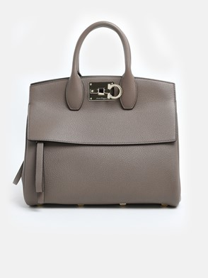 SALVATORE FERRAGAMO - BEIGE THE STUDIO BAG