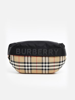 BURBERRY - MD SONNY CHECK FANNY PACK