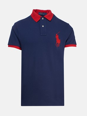 POLO RALPH LAUREN - BLUE POLO SHIRT