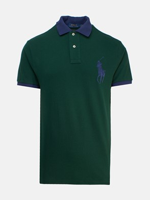 POLO RALPH LAUREN - GREEN POLO SHIRT