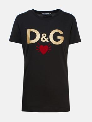DOLCE & GABBANA - BLACK T-SHIRT