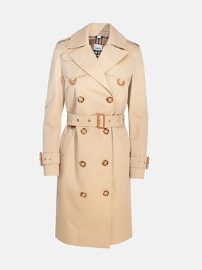 BURBERRY - BEIGE ISLINGTON TRENCH COAT