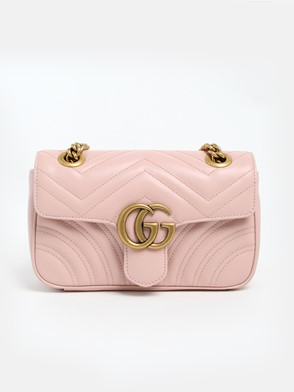 GUCCI - PINK GG MARMONT BAG