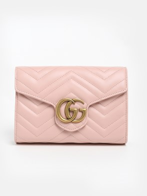 GUCCI - PINK MARMONT MINI BAG