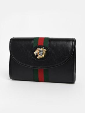 GUCCI - BLACK LION WEB BAG