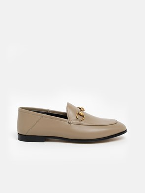 GUCCI - TAUPE LOAFERS