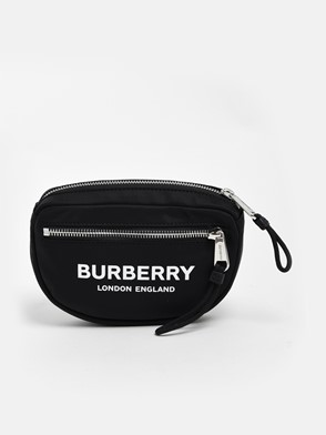 BURBERRY - BLACK CANNON FANNY PACK