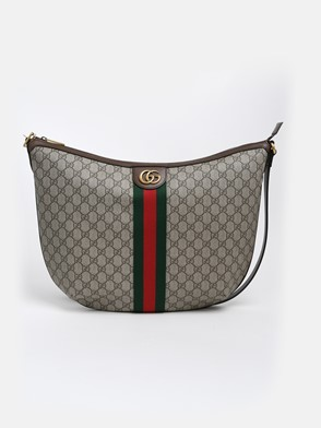 GUCCI - HALF-MOON OPHIDIA BAG