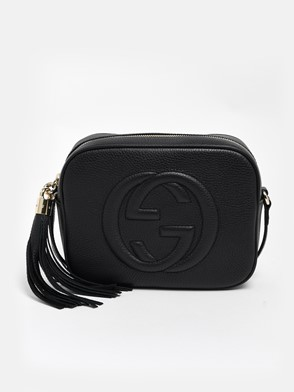 GUCCI - BLACK SOHO BAG