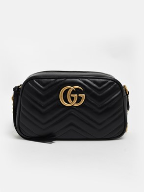 GUCCI - BLACK MARMONT BAG