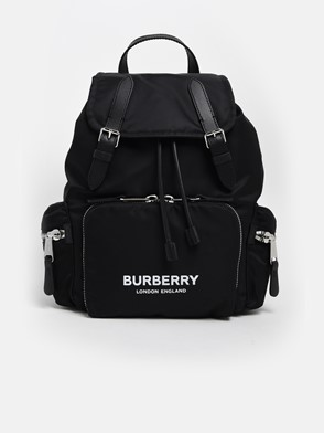 BURBERRY - BLACK MD BACKPACK