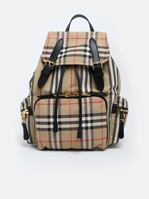 BURBERRY - MD VINTAGE CHECK BACKPACK