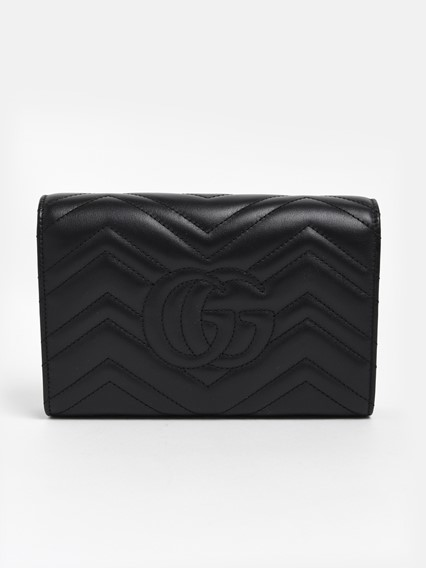 a377bfb9143f79 gucci BLACK MARMONT MINI BAG available on lungolivigno.com - 29506