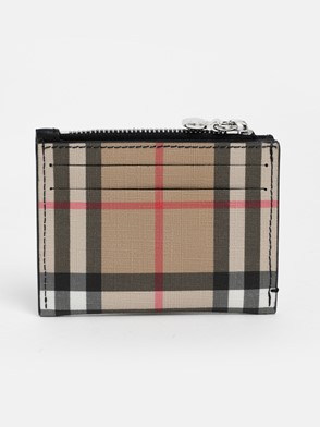 BURBERRY - LS SIMONE CHECK CARD HOLDER
