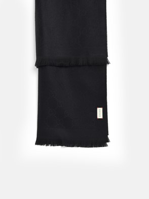 GUCCI - BLACK SCARF
