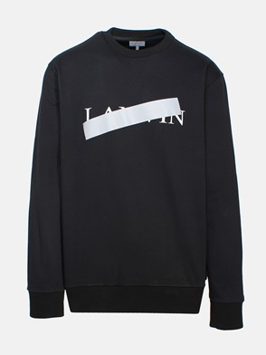 LANVIN - BLACK SWEATSHIRT