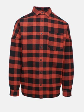 PALM ANGELS - RED OVER LOGO SHIRT