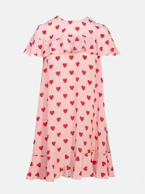 REDVALENTINO - PINK MINI DRESS
