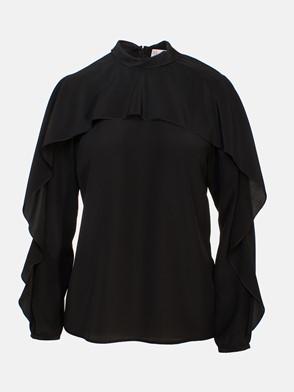 REDVALENTINO - BLACK SHIRT