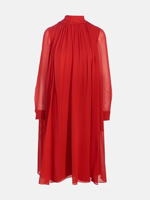 MAX MARA - RED RUGIADA DRESS