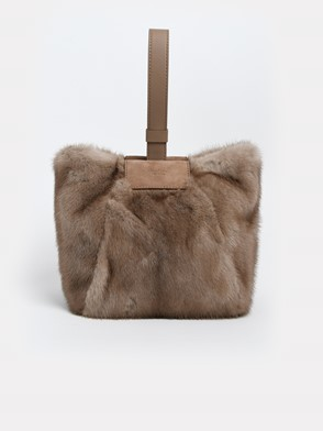 MAX MARA - BROWN LARAXS BAG
