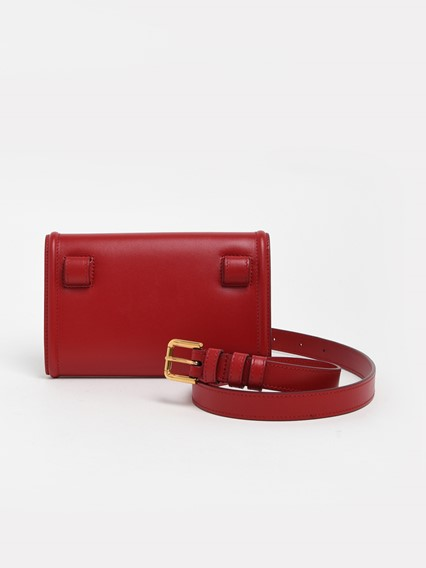 DOLCE & GABBANA RED DEVOTION FANNY PACK