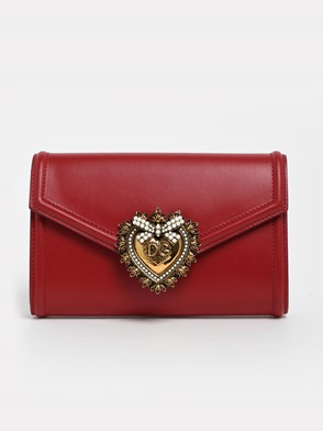 DOLCE & GABBANA - RED DEVOTION FANNY PACK