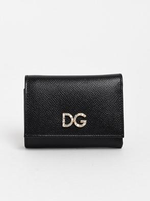 DOLCE & GABBANA - BLACK DAUPHINE WALLET