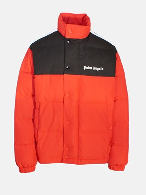 PALM ANGELS - BLACK AND RED DOWN JACKET