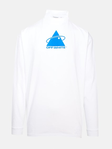 OFF WHITE c/o VIRGIL ABLOH WHITE TRIANGLE PLANET SWEATER