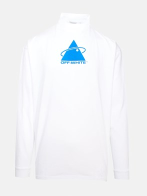 OFF WHITE c/o VIRGIL ABLOH - WHITE TRIANGLE PLANET SWEATER
